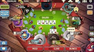 Conti dei poker online sole