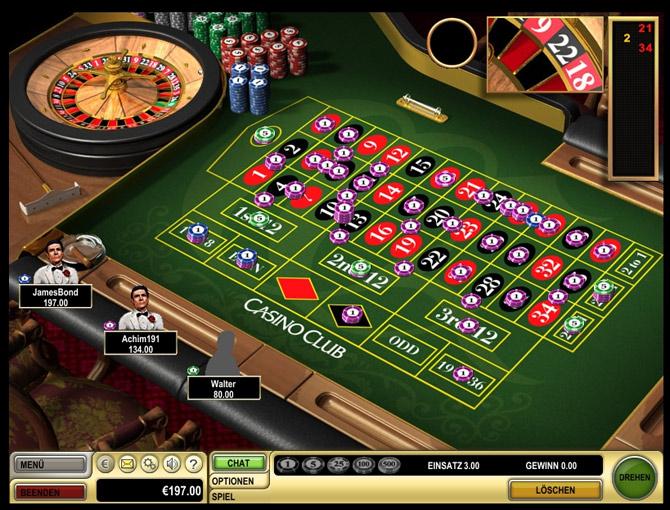 Sistemi alla roulette Hansa 20052