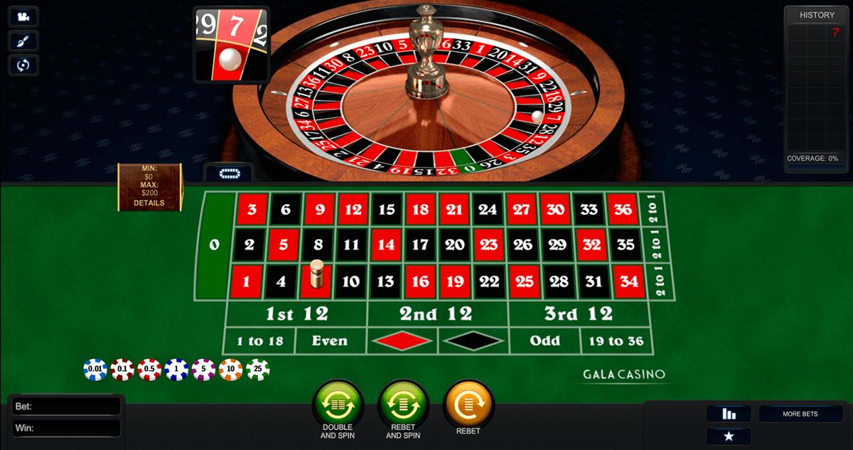 Roulette senza 66525