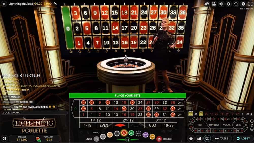 Roulette live casinò 29345