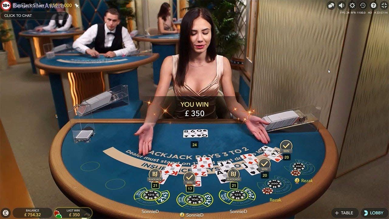 Blackjack live online 44450