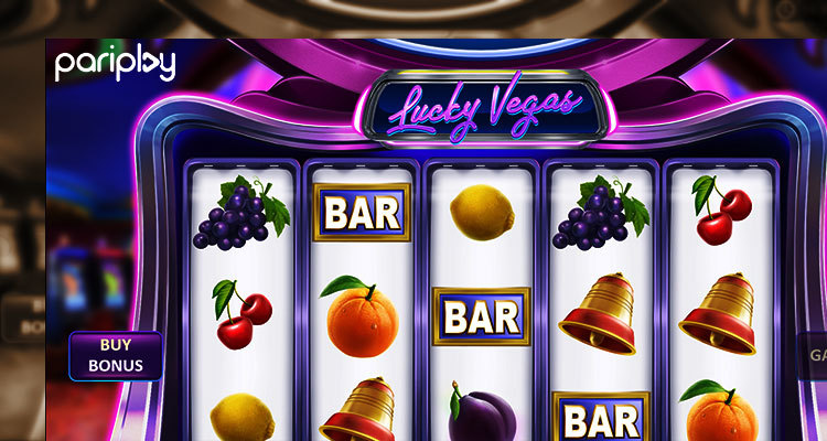 Video lotterie slot champagne