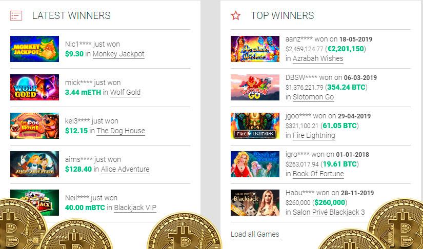 Casinò con Bitcoin Slots 32378