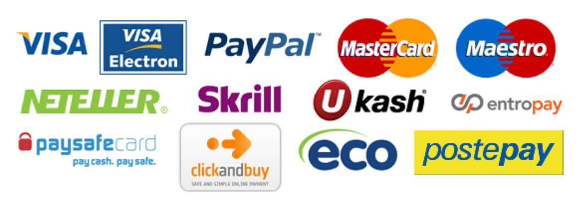 Metodi pagamento nei 26754