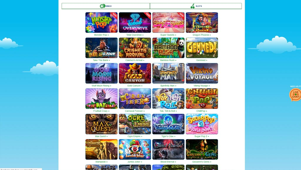 Applicazioni gambling New Bingo tratti