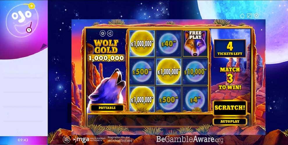 Vinto Jackpot milionario ridurre