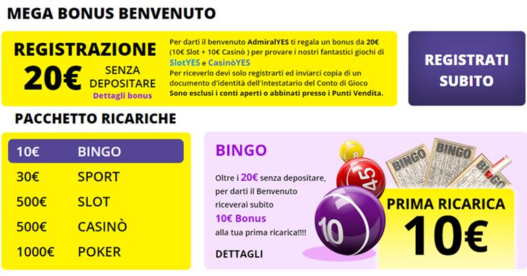 Il bonus VIP informazioni 79032