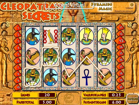 High Roller Cleopatras Palace pubblicitarie
