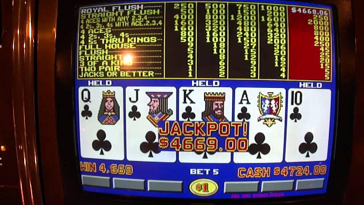 Video poker American 41740