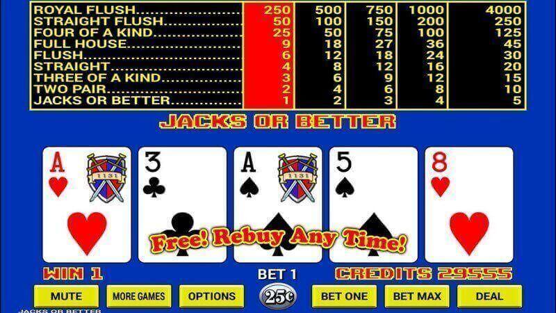 Video poker strategie casinò 74551